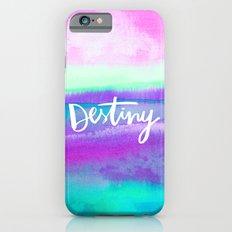 Destiny - Collaboration by Jacqueline Maldonado and Galaxy Eyes iPhone 6 Slim Case