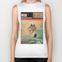 eugenia loli Biker Tanks featuring MBI13 by Frank Moth