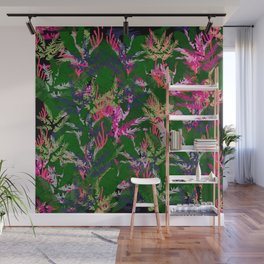 Vibrant Tropical Wall Mural