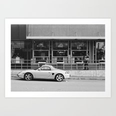 Morning Routine in Old Bellevue Art Print