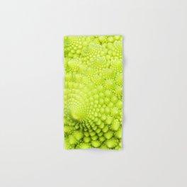 Closeup on Green cauliflower Hand & Bath Towel