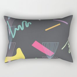 vortex squiggle Rectangular Pillow