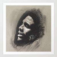 Abel XO Art Print