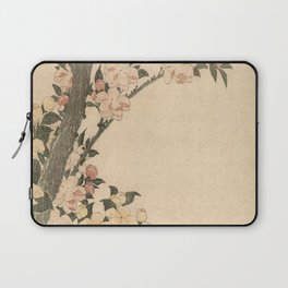 Hokusai, flowers of a cherry-tree- manga, japan,hokusai,japanese,北斎,ミュージシャン Laptop Sleeve