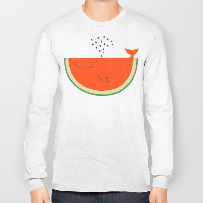 Don't let the seed stop you from enjoying the watermelon Long Sleeve T-shirt