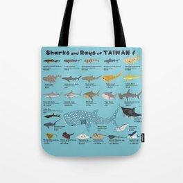 Sharks and Rays of Taiwan Tote Bag
