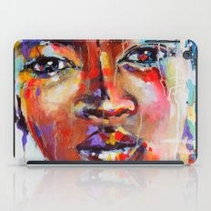 Closer - portrait of a beautiful woman iPad Case