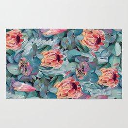 Protea flowers Rug
