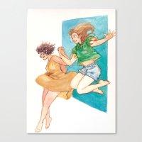 australia Canvas Prints featuring Australia by Burdge