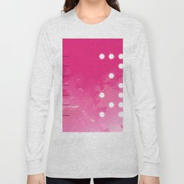 Pink Abstract Passion Long Sleeve T-shirt