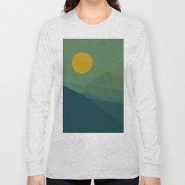 The Hills Felt Green That Evening Long Sleeve T-shirt