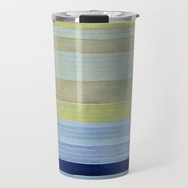 Colorbands Daylight Blue and Yellow Travel Mug