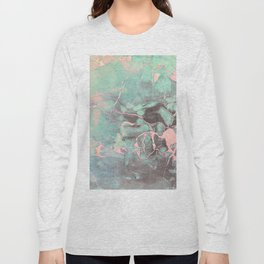 Delicate Shadow Marble Long Sleeve T-shirt