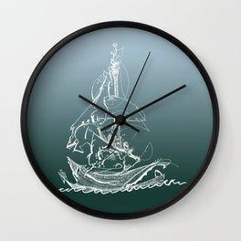 Captain Melo the Explorer Wall Clock