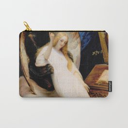 12,000pixel-500dpi - Horace Vernet - The Angel Of Death - Digital Remastered Edition Carry-All Pouch