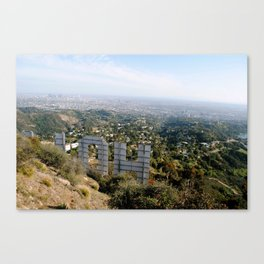 hollywood heights Canvas Print