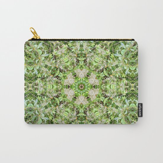 Kaleidoscope of Rainforest Flowers Carry-All Pouch