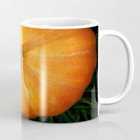 pumpkin Mugs featuring Pumpkin ^_^ by Julia Kovtunyak