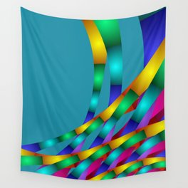 fractal geometry -131- Wall Tapestry