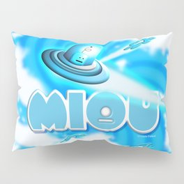 Miou in Blue! Pillow Sham