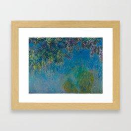 "Claude Monet ""Wisteria"" Framed Art Print"