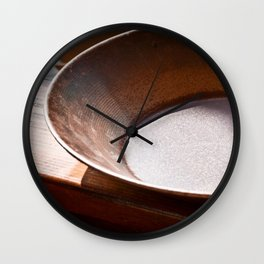 Pan for Gold Wall Clock