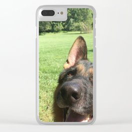 Happy Dog! Clear iPhone Case