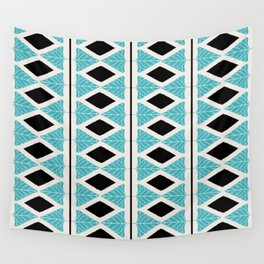 Midcentury Modern Pattern Wall Tapestry