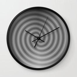 balanced black Wall Clock