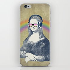 Modern Lisa iPhone & iPod Skin