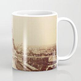 Eiffel Tower and Champ de Mars 1889 Paris Coffee Mug