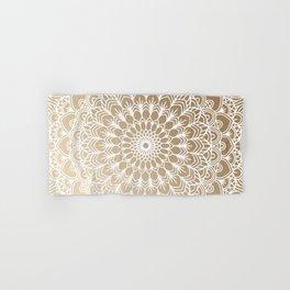 Gold Mandala 19 Hand & Bath Towel