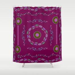 Flower Pattern12 Shower Curtain