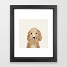 little spaniel Framed Art Print