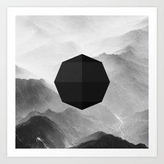 Octagon Art Print