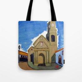 Iglesia San Agustin La Serena Tote Bag