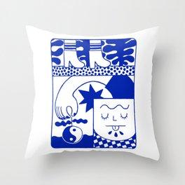 Fruit Comic  Throw Pillow