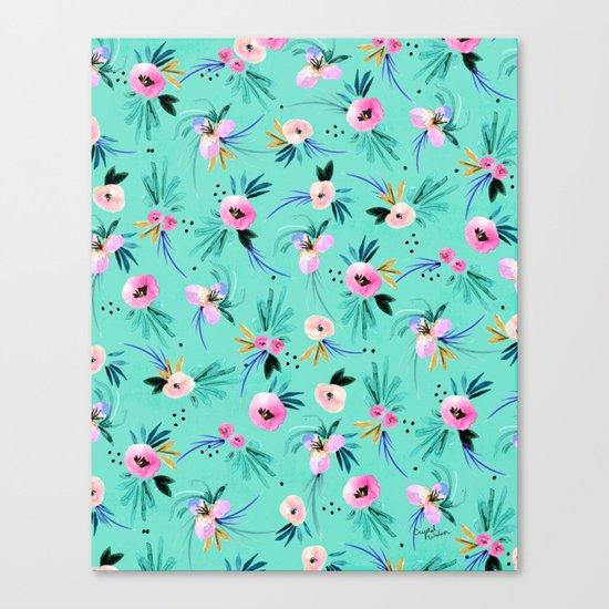 Calypso Floral Canvas Print