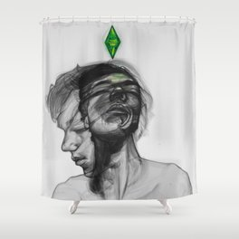 Don't give me orders, I do what I want! Shower Curtain