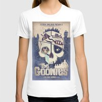 the goonies T-shirts featuring Goonies by Jared Andolsek