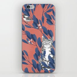 in the wild // repeat pattern iPhone Skin