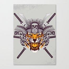Tiger Warrior Canvas Print