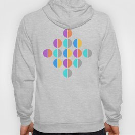 BACK TO THE 70's (abstract geometric pattern) Hoody