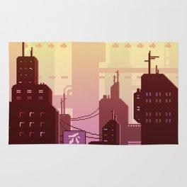 Future skyline Rug