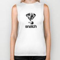 snatch Biker Tanks featuring SNATCH by childoftheatom