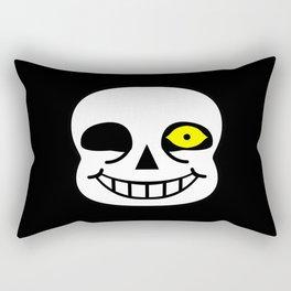 Sans Skull Bad Time Rectangular Pillow