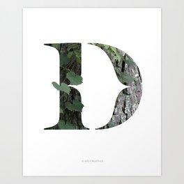 LL Series: D Art Print