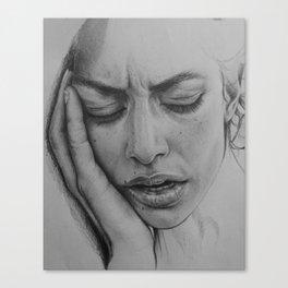 Overthinking Canvas Print