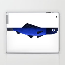 Blue fish Laptop & iPad Skin