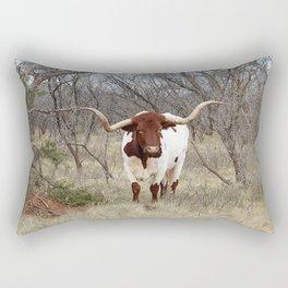 Longhorn Cattle Rectangular Pillow
